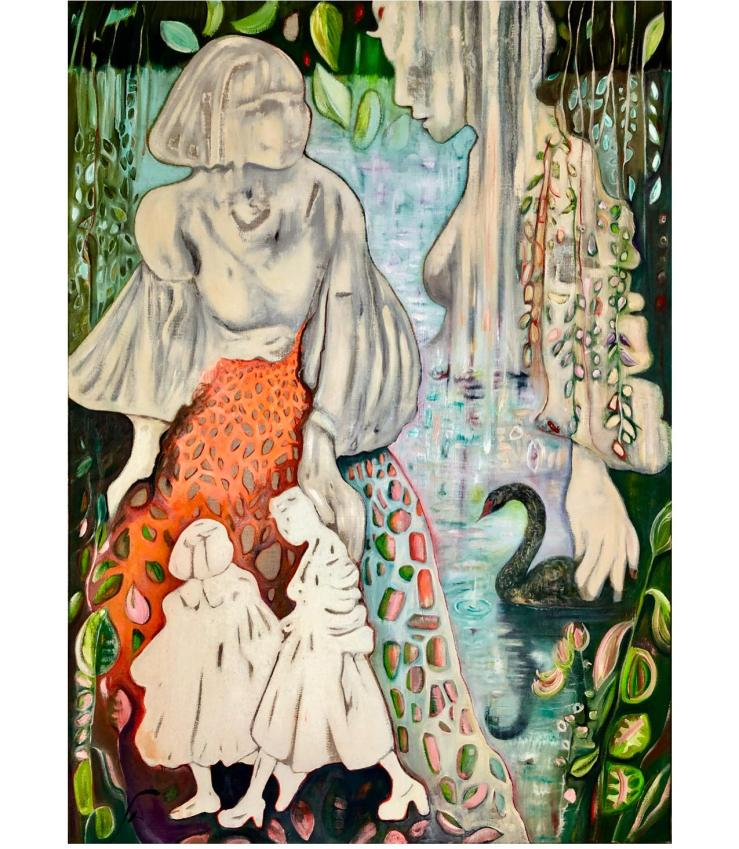 Tiergartenufer100x140cm, Ingrid McMillan